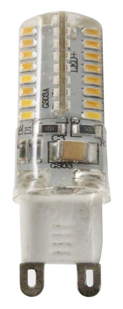Ampoule sp cifique led 3w g9 2700k 220lm claire 330 for Nouvelles ampoules equivalence watts