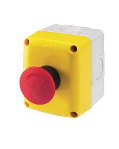 gewiss gw27202 bo tier operateur 1 poste 1na 1nc bouton poussoir s curit. Black Bedroom Furniture Sets. Home Design Ideas