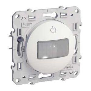 schneider s520525 odace d tecteur de pr sence et de mouvement blanc toutes charges 3 fils. Black Bedroom Furniture Sets. Home Design Ideas