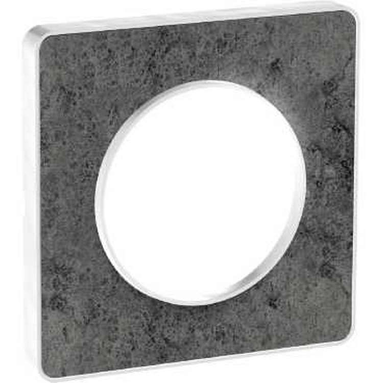 schneider s520802u odace touch plaque pierre galet 1 poste. Black Bedroom Furniture Sets. Home Design Ideas
