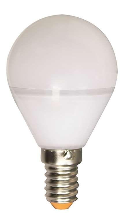 Ampoule sph rique led 5w e14 240v 2700k 330 quivalent 35 for Nouvelles ampoules equivalence watts