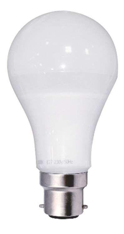 Ampoule standard led 12w b22 240v 2700k 330 quivalent 75 for Nouvelles ampoules equivalence watts