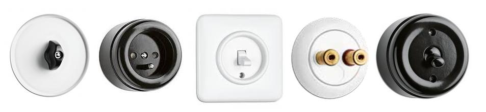 Prises et interrupteurs THPG