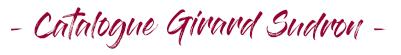 catalogue Girard Sudron