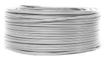 Câbles PVC méplat Cristal' 2x0.4mm², roule de 100 m (235025)