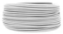 Câble PVC rond  Blanc' 3x0.75mm², roule de 100 m (235913)