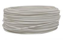Câbles PVC rigide rond Blanc' 1x0.75mm², roule de 100 m (236463)
