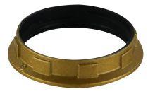 Petite bague pour douille E14 Or vernissé , diamétre 35 mm (214427)