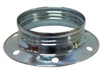 Grande bague pour douilles E27 métal Zingué (220989)