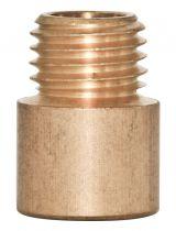 Raccord mâle et femelle en Laiton, Pas International, diametre 13mm (306796)