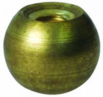 Raccords fin de lustre en Laiton, Pas femelle 3 x 50, diametre 8mm (309610)