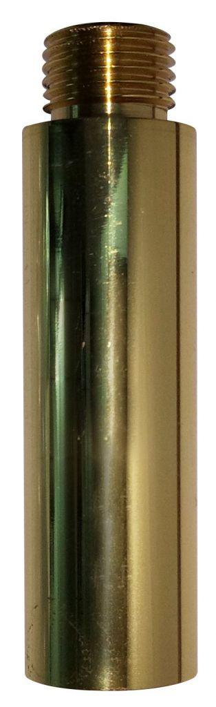 Tube en Laiton poli verni, longueur 40 mm (330573)