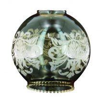 Globe satiné gravé pour lustres, -, longueur 150 mm (745510)