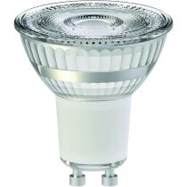 Spot LED 6.5W GU10 2700K 460lm 36°claire dimmable
