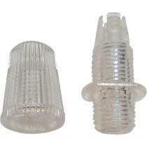 Serre-câble 10mm transparent