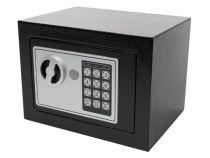 Coffre-Fort Électronique - 17 X 23 X 17 Cm - Noir (BG90014)