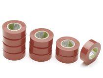Nitto - Ruban Adhesif Isolant - Rouge - 19 Mm X 10 M (1040N-RPC)