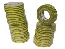 Nitto - Ruban Adhesif Isolant - Vert/Jaune - 19 Mm X 10 M (1040N-VJPC)