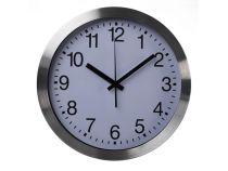 Horloge Murale En Aluminium - ?30 Cm (WC101)