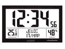 La Crosse - Horloge Dcf Avec Calendrier, Température, Humidité Et Alarme (WS8013)