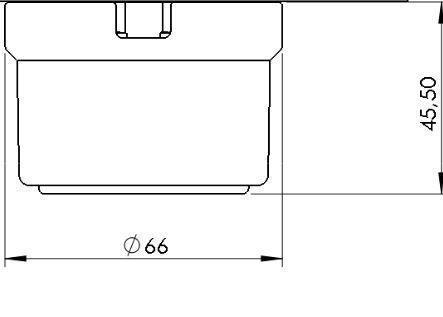 Prise de courant en saillie en porcelaine noire avec pas de cable (30211272)