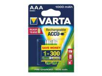 Accu ni-mh aaa/r3 1.2v-1000mah 56763.101.402 (2pcs/bl) (HR3/10)