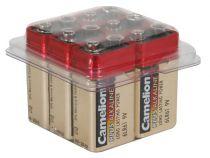 Alcaline e-block 9v-500mah (6 pcs/boîte) (6LR61C/6)