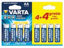 Alcaline lr6/aa, 1.5 v pack promo 4 + 4 pcs 4906.121.448 (blister) (LR6/44)