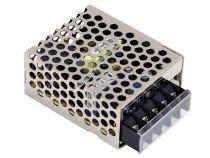 alimentation compacte à découpage pour équipement informatique - 1 sortie - 15 w - 12 v - chassis fermé (RS-15-12)