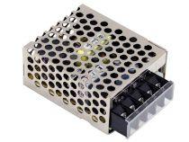 alimentation compacte à découpage pour équipement informatique - 1 sortie - 15 w - 24 v - chassis fermé (RS-15-24)
