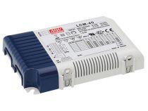 alimentation led variable - courant constant - 40 w - courant de sortie réglable avec pfc (LCM-40)