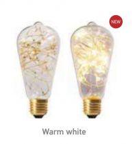 Ampoule Edison Happy in 1,5W E27 3000K Claire (16021)