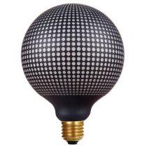 Ampoule globe décorative pointillée LED, E27, 125, 4W