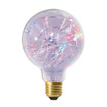 Ampoule Globe G125 Happy in 1,5W E27 RGB Claire (16028)