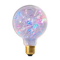 Ampoule Globe G95 Happy in 1,5W E27 RGB Claire (16027)