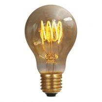 Ampoule Standard A60 filament LED 4 loops 5W E27 2000K 250Lm Ambrée (716669)
