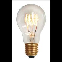 Ampoule Standard A60 filament LED 4 loops 5W E27 2200K 280Lm Claire (716670)