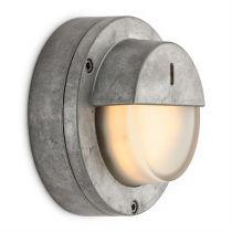 Applique rétro en aluminium brut (100630)