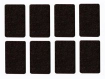 Bande feutre - rectangulaire 30mm x 48mm - 8 pcs (DTF6)