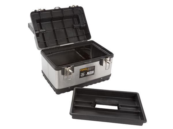 Boîte à outils - acier inoxydable - 380 x 270 x 225mm (OTBA5)