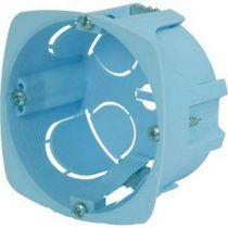 Boîte d\'encastrement cloison sèche - vis - 1 poste - profondeur 40mm- diametre 67mm