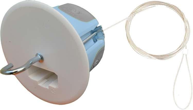 Boîte dcl point de centre spécial bbc + dispositif d\'arrimage intégré (filin de 2m) diamètre 67 mm