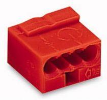 Borne micro pour boîte de dérivation 4C / Rouge