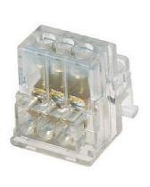 Borniers à serrage indirect - capot taraudé - capacité connexion 5x6 mm²