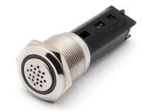 Buzzer - acier inoxydable - pour montage en saillie - 19mm (SV21)