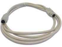 Cable clavier ps/2 mini-din6 male - mini-din6 male / 2m (CW029)