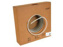 Câble ftp, cat6, 4 x 2 x 0.57mm, 4 paires torsadees, longueur : 100m (FTPCAT6/100)