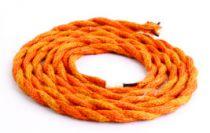 Câble Tressé double isolation Orange (2M) (187532)
