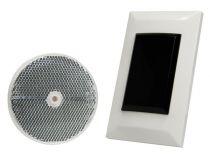 Capteur photoélectrique avec réflecteur, rétro-réflexion, 7m -montage affleuré (PEM7DBI)