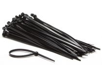 Colliers de serrage en nylon - 4.8 x 190mm - noir (100pcs) (ECTB200)